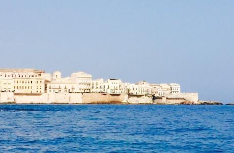 האי אורטיג'יה Ortygia -סיציליה