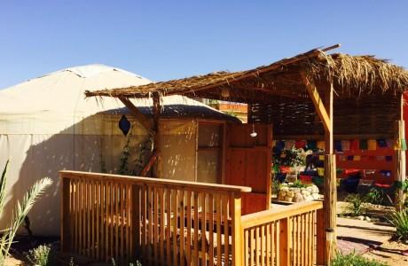 היורט בצוקים Desert Yurt
